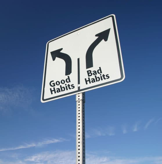 good and bad habits Breaking bad habits or adopting a new good habit can be a learned activity  follow these three steps and practice each stage to achieve.