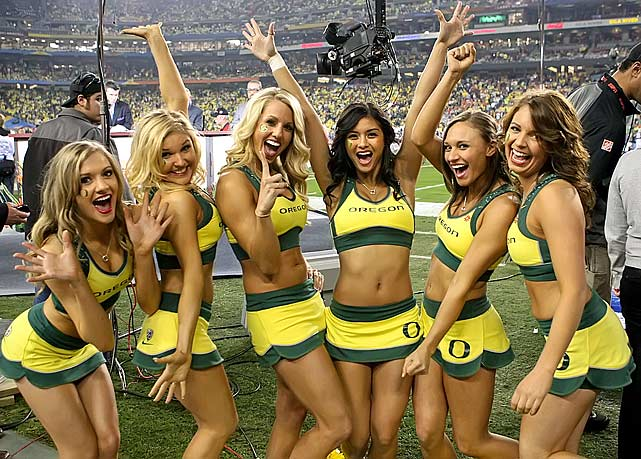 Oregon-Cheerleaders