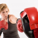 girl boxing