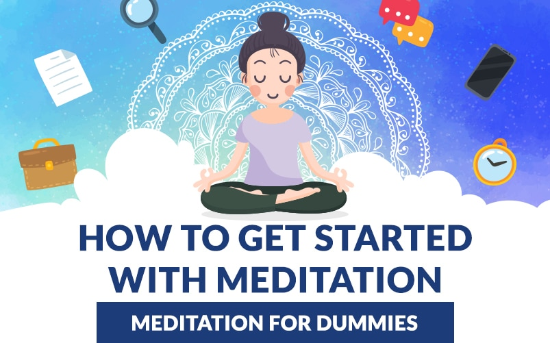 How To Get Started With Meditation Infographic - Featured Image