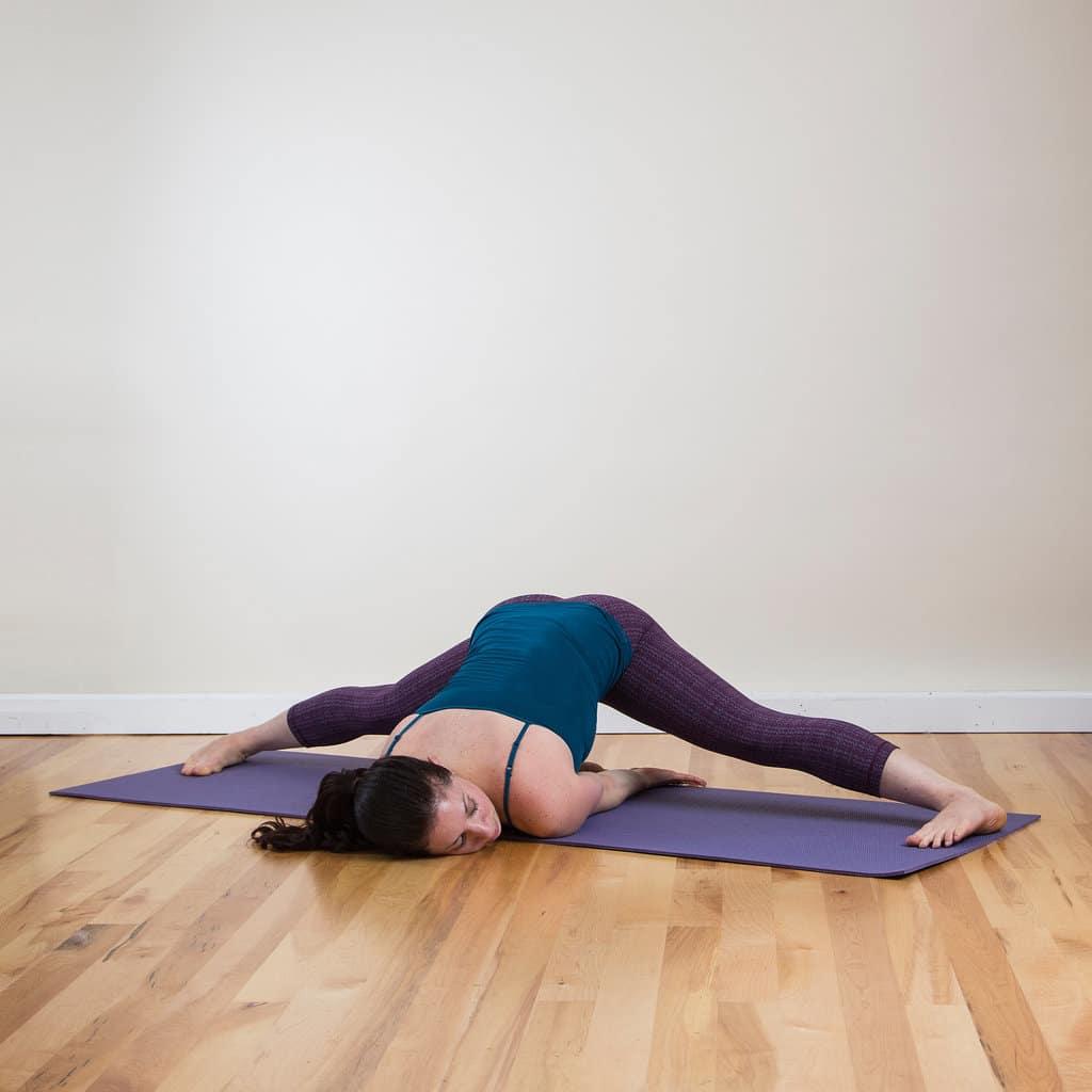 Эффективные упражнения для растяжки на шпагат 91