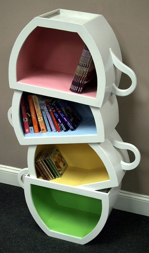 Creative Bookshelves 40 creative bookcase designs to give you ideas - examined existence