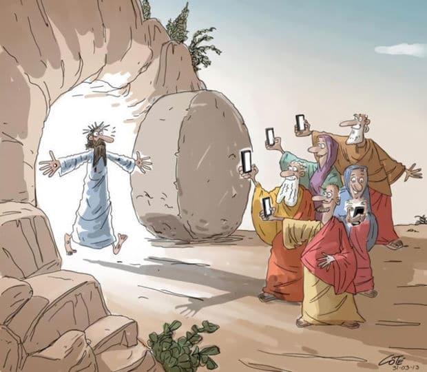 jesus smartphone
