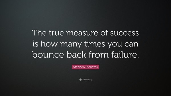 Bounce Back Quotes Enchanting 28 Quotes About Bouncing Back From Failure  Examined Existence
