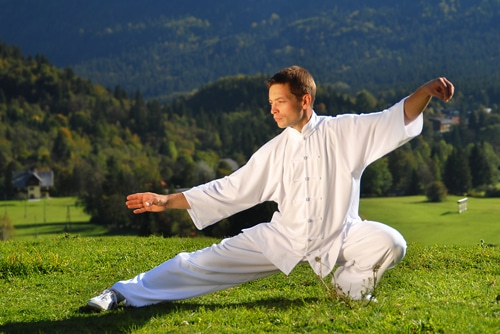 tai chi Learn about the origin and history of tai chi, a martial art designed for self-defense, and discover the health benefits (stress reduction) of its gentle movements and postures.