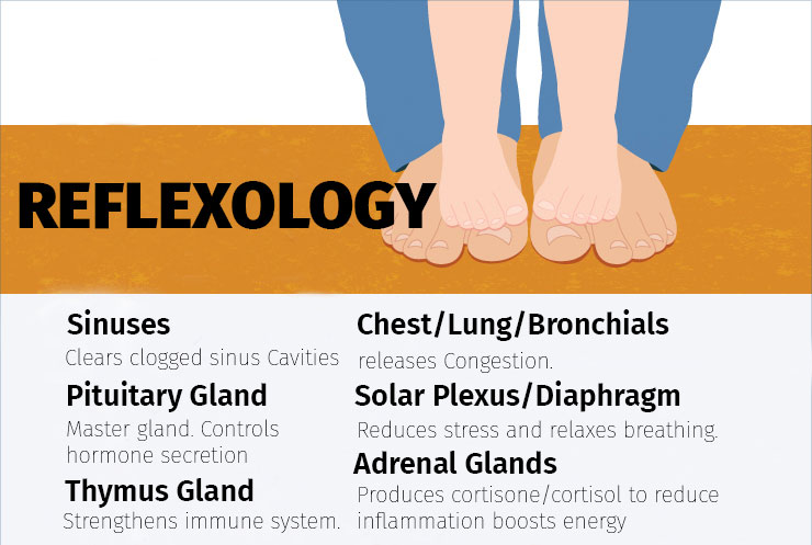Reflexology inforgraphic