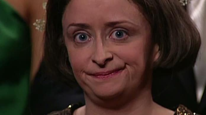 Debbie Downer looking disappointed